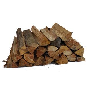 スギ乾燥薪36cm大中割 箱入 スギの薪は燃え上がりが早く、いろんな場面で重宝します。特にアウトドアでのキャンプファイヤーや飯ごう炊さんなどに。 杉