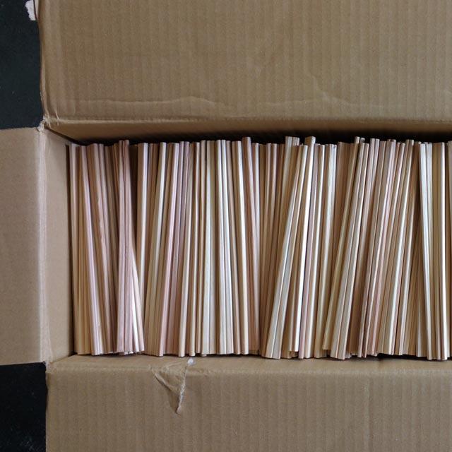 わりばし焚付材 未使用品 完全乾燥品 18−20kg(約5000膳)|選別落ちした割り箸を焚付用に|DIYの材料にも|国産品|割箸