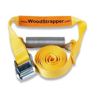 ウッドストラッパー 薪割りをより早く、安全に行えます 割った薪をらくらく移動