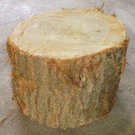 薪割り台 ナラ Φ30cm 薪割りの必需品 高さを抑えめにして焚付作りにも活用できます 丸太の輪切りですので他用途にも応用できます
