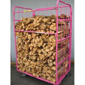 ナラ乾燥薪36cm大中割75束(525kg)(予約済み商品) 代引不可 日祝の配達不可 時間帯指定できません