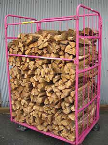 ナラ乾燥薪36cm大中割75束(525kg)【ご予約可能】薪ストーブ、暖炉用の定番|規定乾燥期間6カ月以上|日祝配達不可|午前午後「希望」のみとなります