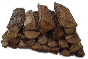 ナラ乾燥薪26cm大中割 25kg箱入|宅配便|小型の薪ストーブや焚火台におすすめです|6ヶ月以上自然乾燥|蒔|まき|たきぎ