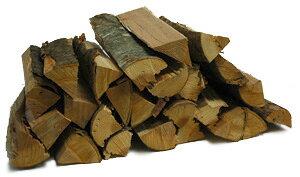 サクラ乾燥薪36cm中割 20kg箱入 お香のような独特な香りがするサクラの薪。燻製用にも人気があります。やや細めなのでアウトドアや石窯用におすすめです。 桜