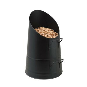 ペレット補給バケツ 7kg容量 ペレットストーブにペレットを上手に補給できるように工夫されています。