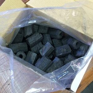 (国産)柏炭 炭じいのお炭つき BBQ用オガ炭1級 5kg 使いやすく良質のオガ炭を程よいボリュームにしました。火持ちも良くおすすめです。