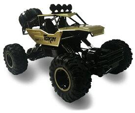 高速ラジコン クライミングカー 2.4GHz高性能バギー レーシング HOTSHOT自動車/車 オフロードカー アルミクライミングカー 6026E-Golden