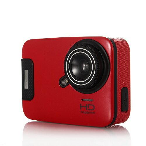 3Gスマート WIFI スポーツ カメラ HD 1300万画素40メートル潜水防水5G 150度広角 レンズ2.6インチ LCD 2.4G無線RF Camera Gopro A11-red