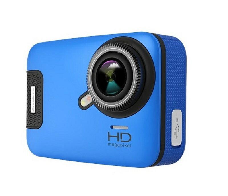 3Gスマート WIFI スポーツ カメラ HD 1300万画素40メートル潜水防水5G 150度広角 レンズ2.6インチ LCD 2.4G無線RF Camera Gopro A11-Blue