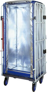 保冷|保温|輸送|断熱|保冷カバー|折りたたみ|コンパクト|890mm×740mm×1460mm【カゴ台車用保冷カバー(タイプ4)】