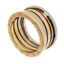 20号【BVLGARI/ブルガリ】 ビーゼロワン/B-ZERO1 コンビ リング・指輪 K18WGホワイトゴールド 18金/K18PGピンクゴール…