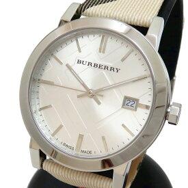 【BURBERRY/バーバリー】 ヘリテージ BU9022 腕時計 ステンレススチール クオーツ シルバー文字盤 メンズ【中古】【真子質店】【TxS】