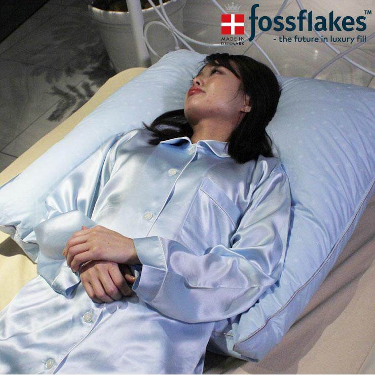 フォスフレイクス (fossflakes) ロイヤーレ ハーフボディピロー 80×80cm