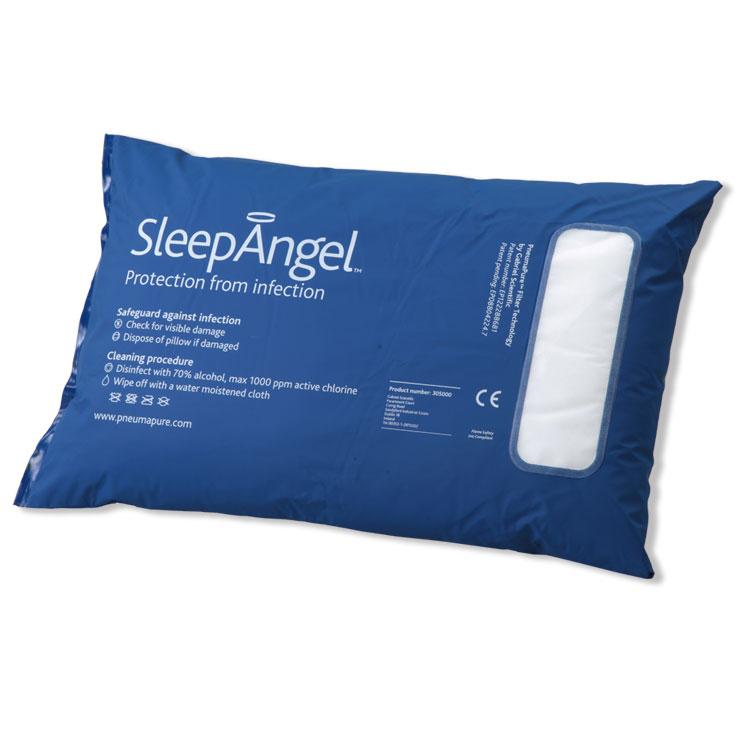 sleep angel(スリープエンジェル)メディカルピロー45x70cm アイルランド生まれ ダニやホコリが気になる方 アレルギー・ウイルス対策・受験生におすすめ【特許取得】【autumn_D1810】