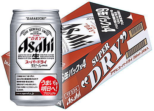 アサヒスーパードライ 350ml缶×1ケース(24本入り)★他350mlサイズと混載2ケース購入で送料無料〜北海道・九州・離島・代引き手数料・クール便は別途費用が掛かります〜★在庫が0でもお取り寄せできます。在庫数以上を追加で不足分を希望の場合、メモ欄に記入ください!