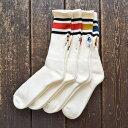 BRU NA BOINNE × decka quality socks 80's スケーターソックス SK8 socks 靴下 刺繍 メール便対応可