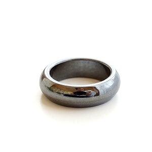 ヘマタイト リング 指輪 くり抜きリング 天然石 パワーストーン アクセサリー ジュエリー レディース メンズ 天然石リング パワーストーンリング オススメ 健康 長寿 肩こり 血流