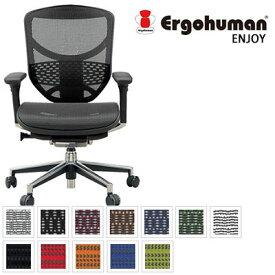 【ポイント10倍】 エルゴヒューマン Ergohuman デスクチェア オフィスチェア エルゴヒューマン エンジョイ ロータイプ ENJOY-L EJ-LAM (メッシュ) / EJ-LBM (モールドクッション座面)