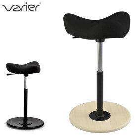\スーパーSALE期間 クーポン配布中/ バランスチェア ムーブ バリエール Varier Move ファブリック:ブラック(FA0999) 高さ56〜82cm   北欧 スツール ヴァリエール バランスチェアー