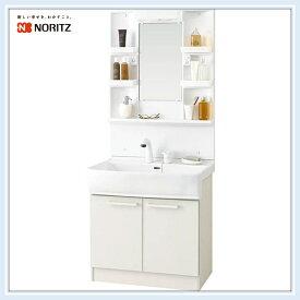 ノーリツ 洗面化粧台 LT洗面間口750 洗髪式シャワー水栓 (LSBB-70EWN1B+LSBM-7SS) 送料無料