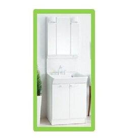 TOTO洗面化粧台 Vシリーズ W750サイズ エコシングルシャンプー水栓+LED3面鏡(LDPB075BAGEN2A+LMPB075B3GDG1G)送料無料