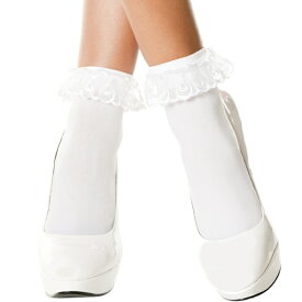 97fcf1b91a1ba  DM便対応、送料210円 ストッキング アンクルソックス レース ホワイト 白 靴下
