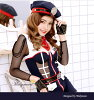 Police officer adult sexy police ★ / Halloween costume play costume uniform fake uniform clothes costume police officer police policewoman costume play disguise dance clothes sexy dance malymoon Mary moon of \ navy