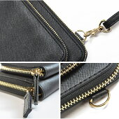 お財布とスマホケースが一緒になった!お財布ショルダーバッグの登場★スマホも入れられるコンパクトなショルダーバッグはショルダー紐を取り外してクラッチバッグとしても使える2wayタイプ☆選べる全6カラー