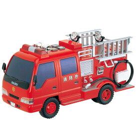 3歳からサウンドポンプ消防車【取寄品】【T】【トイコー・TOYCO・フリクションシリーズ・男の子向け・車・くるま・働く車】 子供向け