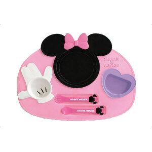 【キッズプレートランチプレート食器皿】アイコンランチプレートミッキーマウス・ミニーマウス【ベビー食器】【D】【P】【RCP】