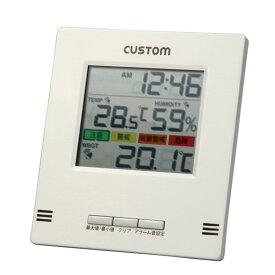 デジタル熱中症計98791【TC】【アーテック】【熱中症計 ポータブル熱中症チェッカー 携帯用】