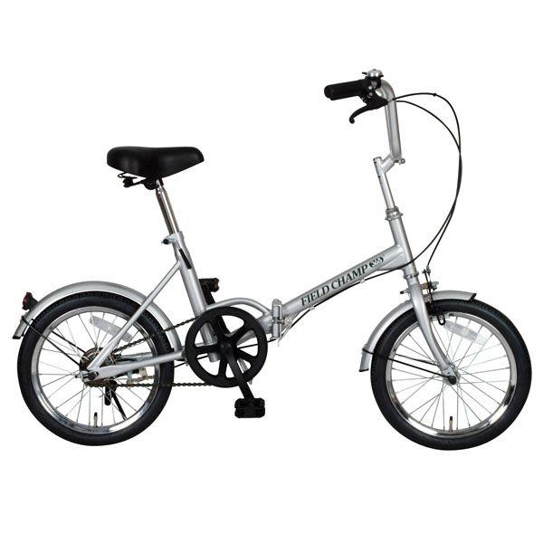 【送料無料】【折りたたみ自転車】FIELD CHAMP365 FDB16【16インチ】ミムゴ NO.72750・シルバー【TD】【RCP】