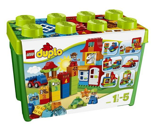 レゴ デュプロ 10580 みどりのコンテナスーパーデラックス送料無料 LEGO ブロック つみき 知育玩具 レゴブロック 緑のコンテナ おもちゃ クリスマス プレゼント ギフト 人気おもちゃ はじめてのブロック 数遊び ごっこ遊び ブロックあそび【D】【取寄品】