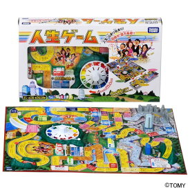 人生ゲーム ボードゲーム パーティゲーム みんなで遊ぶ おもちゃ 知育玩具 ボードゲームおもちゃ ボードゲーム知育玩具 パーティゲームおもちゃ おもちゃボードゲーム 知育玩具ボードゲーム タカラトミー【TC】 【取寄品】
