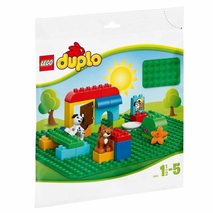 レゴ デュプロ 基礎板(緑) 2304玩具 組立ブロック 遊び LEGO レゴジャパン 【TC】