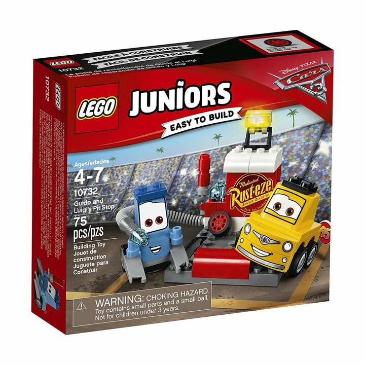 レゴ ジュニア グイドとルイジのピットストップ 10732玩具 組立ブロック 遊び LEGO レゴジャパン 【TC】