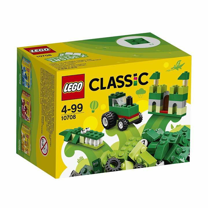 レゴ クラシック アイデアパーツ 緑 10708玩具 組立ブロック 遊び LEGO レゴジャパン 【TC】