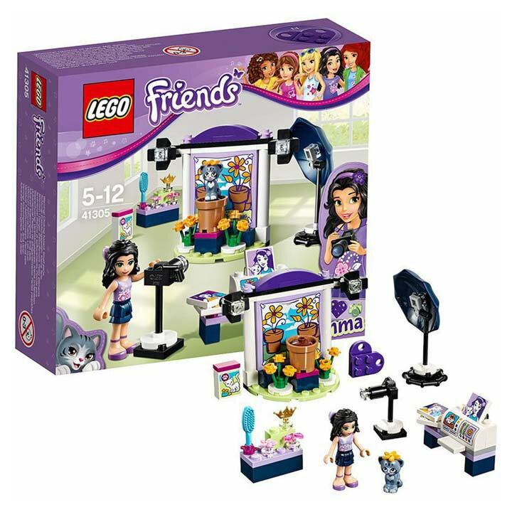 レゴ フレンズ エマのフォトスタジオ 41305玩具 組立ブロック 遊び LEGO レゴジャパン 【TC】