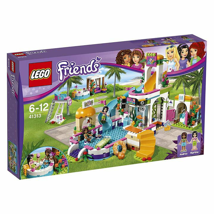 レゴ フレンズ ドキドキウォーターパーク 41313送料無料 玩具 組立ブロック 遊び LEGO レゴジャパン 【TC】