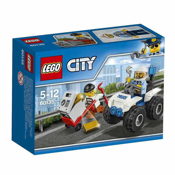 レゴ シティ ドロボウとポリス4WDバギー 60135玩具 組立ブロック 遊び LEGO レゴジャパン 【TC】