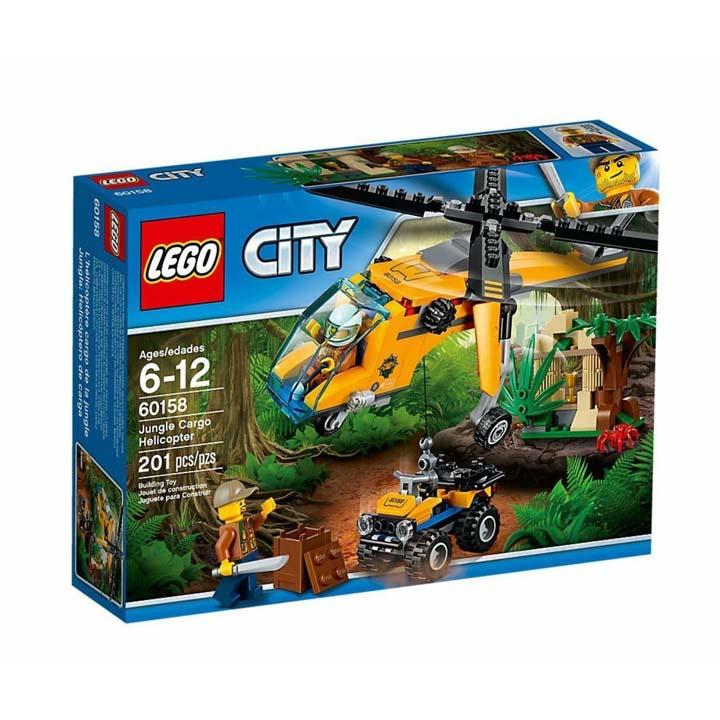 レゴ シティ ジャングル探検ヘリコプター 60158玩具 組立ブロック 遊び LEGO レゴジャパン 【TC】