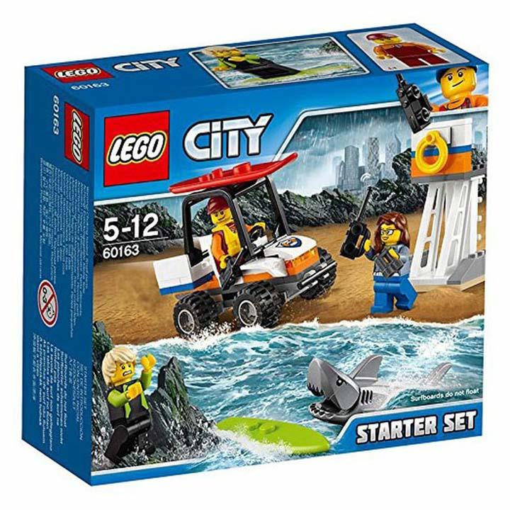 レゴ シティ 海上レスキュースタートセット 60163玩具 組立ブロック 遊び LEGO レゴジャパン 【TC】