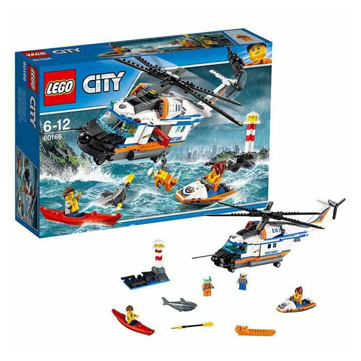 レゴ シティ 海上レスキューヘリコプター 60166送料無料 玩具 組立ブロック 遊び LEGO レゴジャパン 【TC】