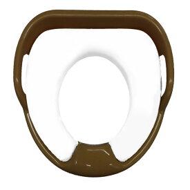 持ち手つき補助便座ソフトシート 88-789トイレトレーニング 子供用 補助シート 洋式 【D】