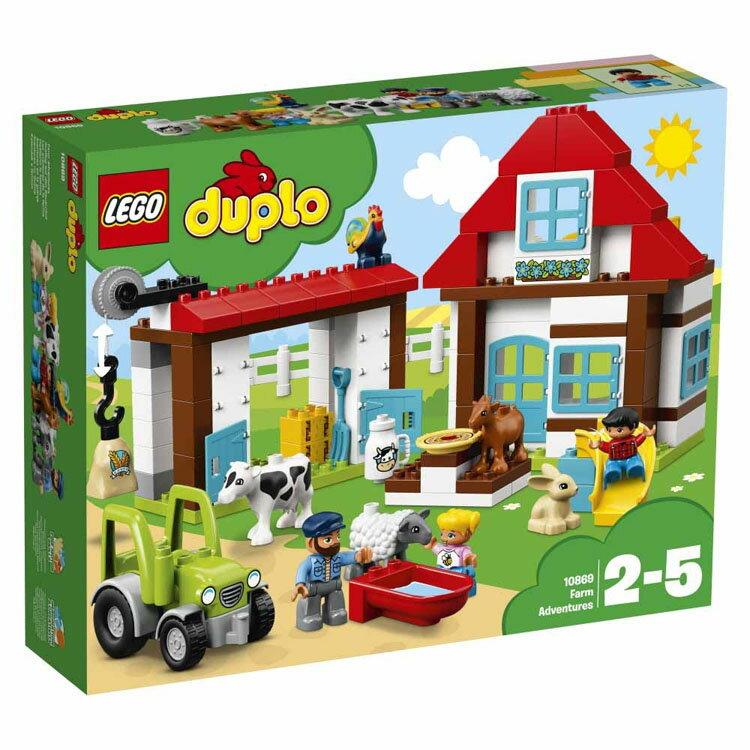 レゴ デュプロ たのしいぼくじょう 10869送料無料 おもちゃ 玩具 ブロック 男の子向け 女の子向け LEGO DUPLO ギフト プレゼント 牧場 ウマ 馬 レゴジャパン 【TC】
