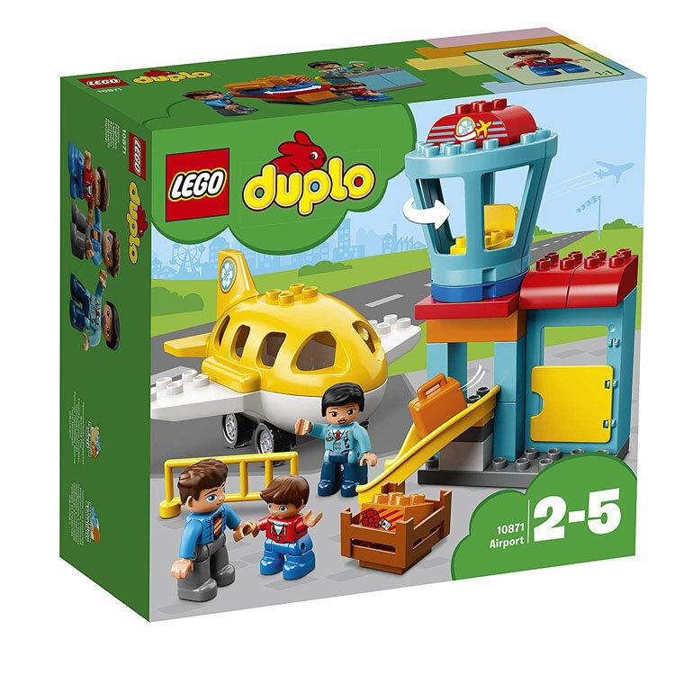 """レゴ デュプロ デュプロ(R)のまち""""くうこう"""" 10871おもちゃ 玩具 ブロック 男の子向け 女の子向け LEGO DUPLO ギフト プレゼント 空港 飛行機 エアプレーン レゴジャパン 【TC】"""