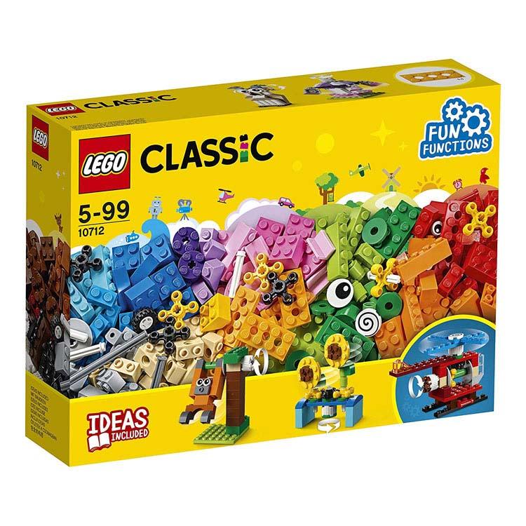 レゴ クラシック アイデアパーツ「歯車セット」 10712おもちゃ 玩具 ブロック プロペラ ヘリコプター メリーゴーランド LEGO Classic ギフト プレゼント レゴジャパン 【TC】