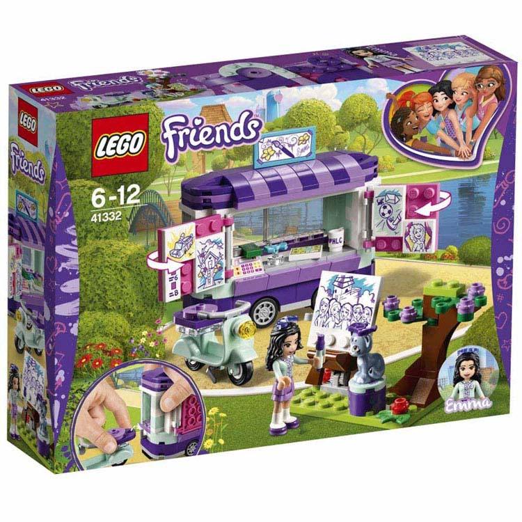 レゴ フレンズ エマのお絵かきワゴン 41332おもちゃ 玩具 ブロック 女の子向け ミニチュア お友達 LEGO Friends ギフト プレゼント レゴジャパン 【TC】