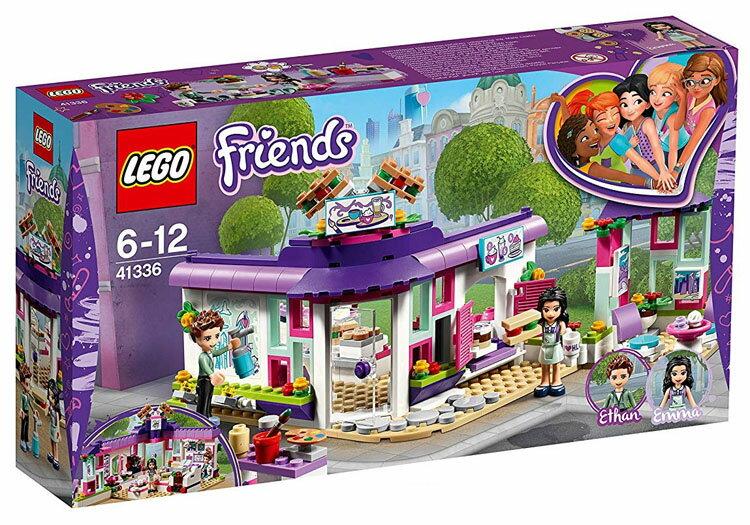 レゴ フレンズ ハートレイクのかわいいアートカフェ 41336おもちゃ 玩具 ブロック 女の子向け ミニチュア お友達 LEGO Friends ギフト プレゼント レゴジャパン 【TC】