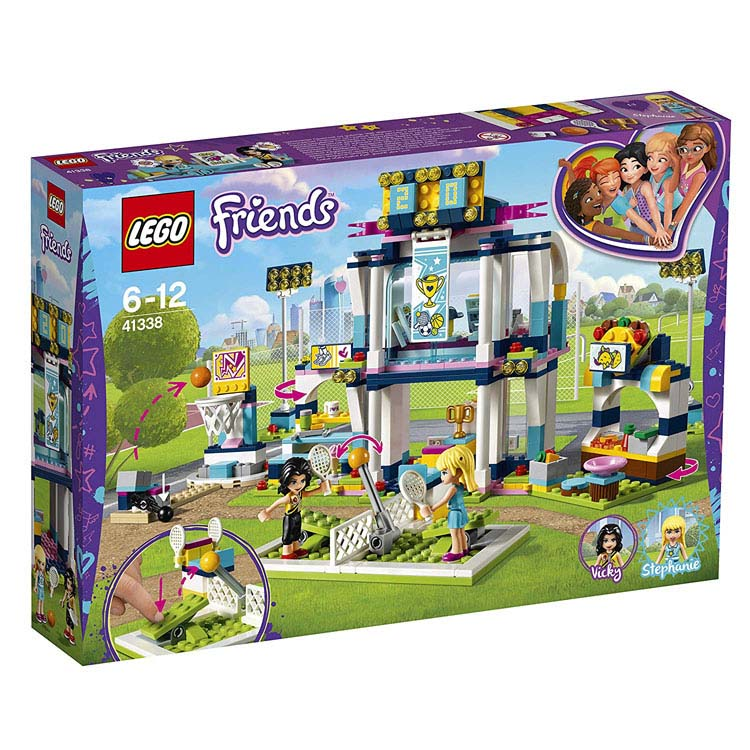 レゴ フレンズ ハートレイク スポーツパーク 41338送料無料 おもちゃ 玩具 ブロック 女の子向け ミニチュア お友達 LEGO Friends ギフト プレゼント レゴジャパン 【TC】